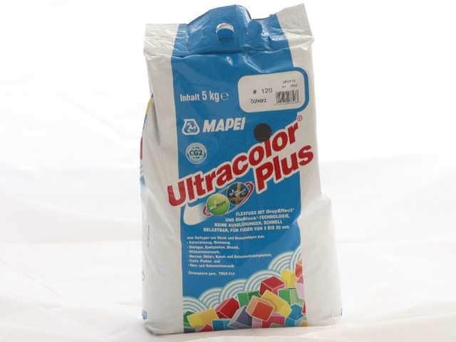 Fugenmaterial schwarz - Ultracolor plus 5 kg Sack 120, Fugenmörtel