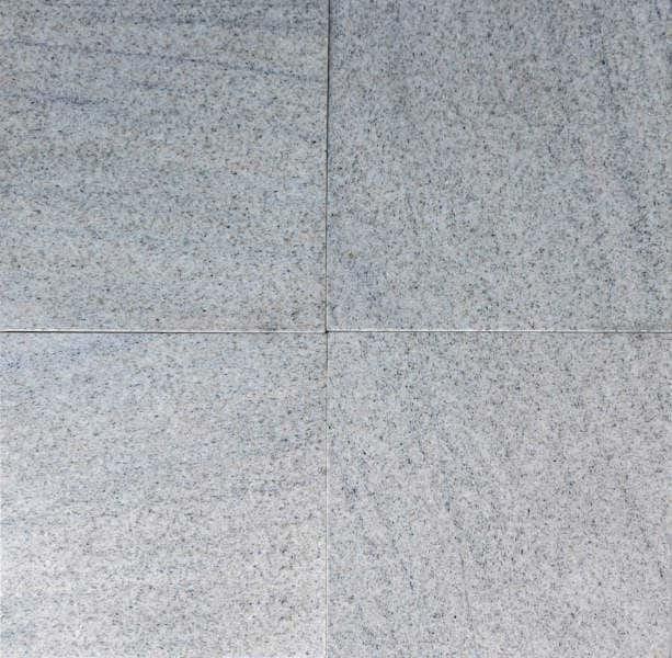 Imperial White Granit Fliesen 30,5 x 30,5 x 1 cm poliert Naturstein