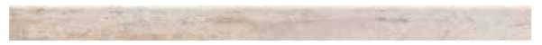 Sockel Holzoptik Farbe Beige 118 x 8 cm Keramik / Feinsteinzeug