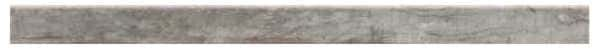 Sockel Holzoptik Farbe Grau - Grün Oliv 118 x 8 cm Keramik / Feinsteinzeug