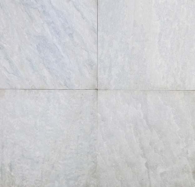 """Quarzit Fliesen Ice white  40 x 40 x 1,1 - 1,3 cm spaltrau, <br class=""""ansicht"""" />für den Außenbereich"""