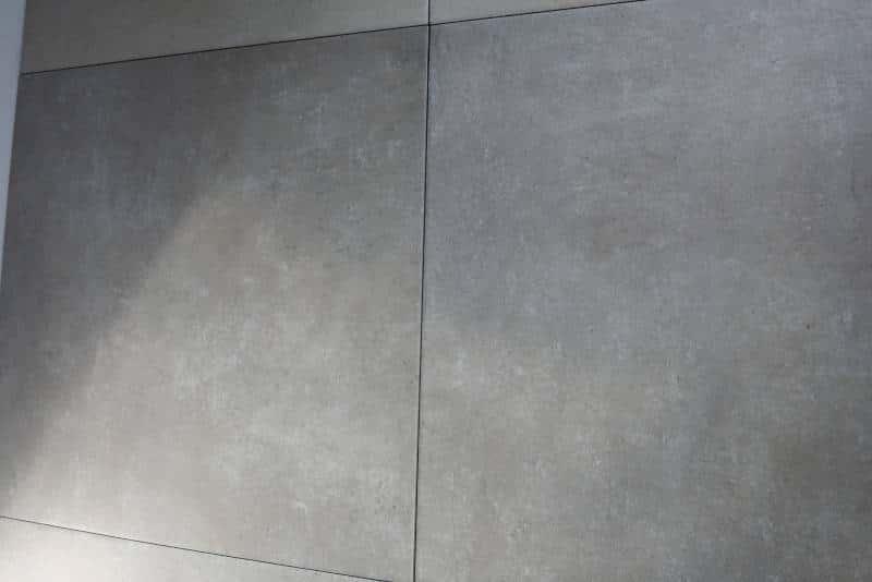 betonoptik fliesen in grau 61 5 x 61 5 keramik feinsteinzeug beton innen. Black Bedroom Furniture Sets. Home Design Ideas