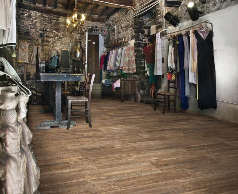 Fliesen Holzoptik Holzdesign Als Formate Verbandverlegung Farbe Braun - Fliesen holzoptik schiffsboden