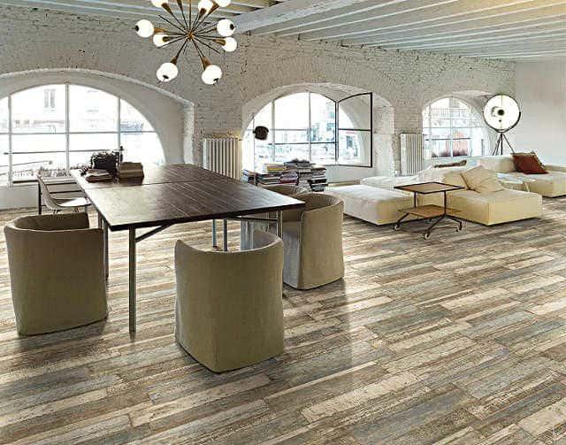 Fliesen Holzoptik Holzdesign Schiffsboden