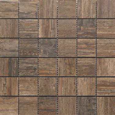 Mosaikfliese Holzdesign Mosaik Fliese X Cm Keramik Farbe Braun - Fliesen 80 x 30