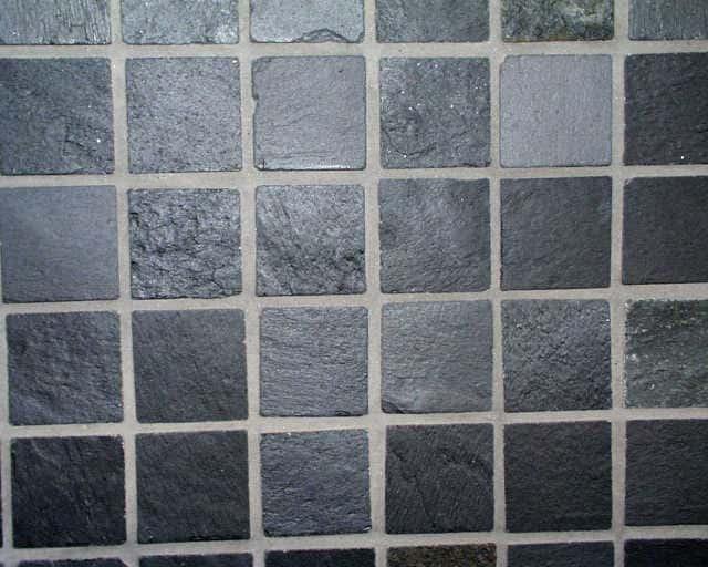 Mosaik Schiefer Quarzit MC X X Cm Natursteinmosaik Shop - Naturstein fliesen anthrazit