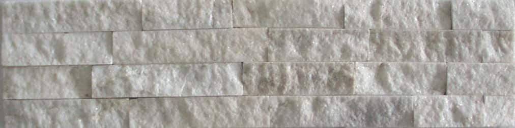 Naturstein Muster, Musterversand Riemchen Verblender weiß ...