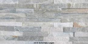 Naturstein Riemchen / Verblender braun - beige S-0507A/5 Wandverblender