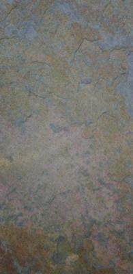 Indischer Schiefer Fliesen 80 x 40 x 1,5 cm bunter Schiefer, spaltrau