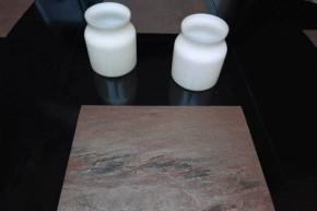 """Schiefer Tischsets aus Echstein Schiefer-Furnier <br class=""""ansicht"""" />-- Copper --"""
