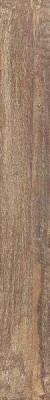 Fliesen Boden / Wand Holzdesign 80 x 10 cm Keramik Farbe: Braun