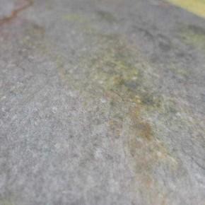 """Indischer Schiefer Buntschiefer 40 x 40 x 1,1 - 1,3 cm kalibriert, <br class=""""ansicht"""" />Oberfläche spaltrau"""