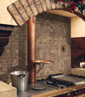 """Mosaik-Fliese Holzdesign Mosaik 30 x 30 cm Keramik <br class=""""ansicht"""" />Farbe: Braun"""