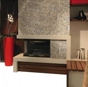 "Mosaikfliese Holzdesign Mosaik 30 x 30 cm Keramik <br class=""ansicht"" />Farbe: Color"