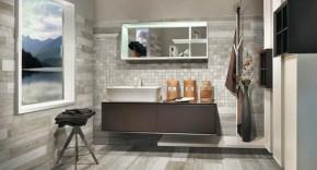 """Mosaikfliese Holzdesign Mosaik 30 x 30 cm Keramik <br class=""""ansicht"""" />Farbe: Weiß"""