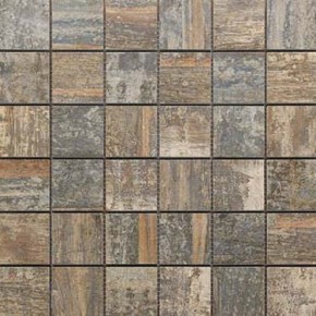 Mosaikfliese Holzdesign Mosaik 30 x 30 cm Keramik Farbe: Color