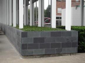 Mustang Schiefer, kalibriert, Oberfläche spaltrau, Schiefer-Fliesen 60 x 60 x 1 cm