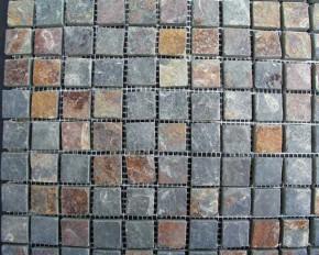 Mosaik Multicolor dark 2,3 x 2,3 x 1 cm MC 1825