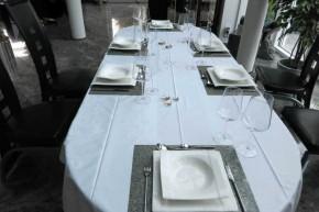 Schiefer Platzset Tischset rechteckig 40 x 30 cm Schiefer-Furnier